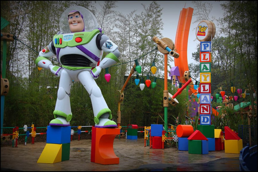 toy story playland tracy eck