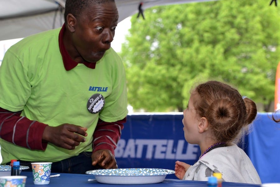 Battelle at the 2019 COSI Science Festival