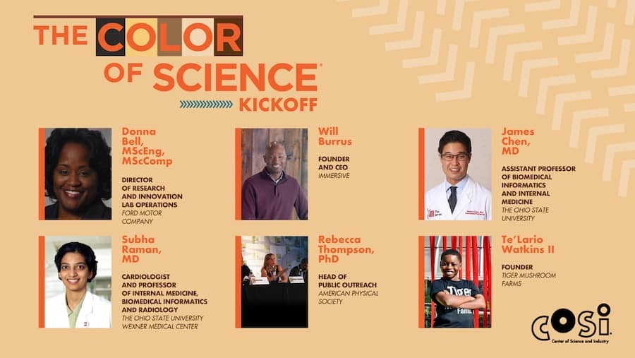 Color of Science Kickoff Dr Frederic Bertley