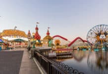 California Lockdown theme parks Pixar Pier in Disney California Adventure Park