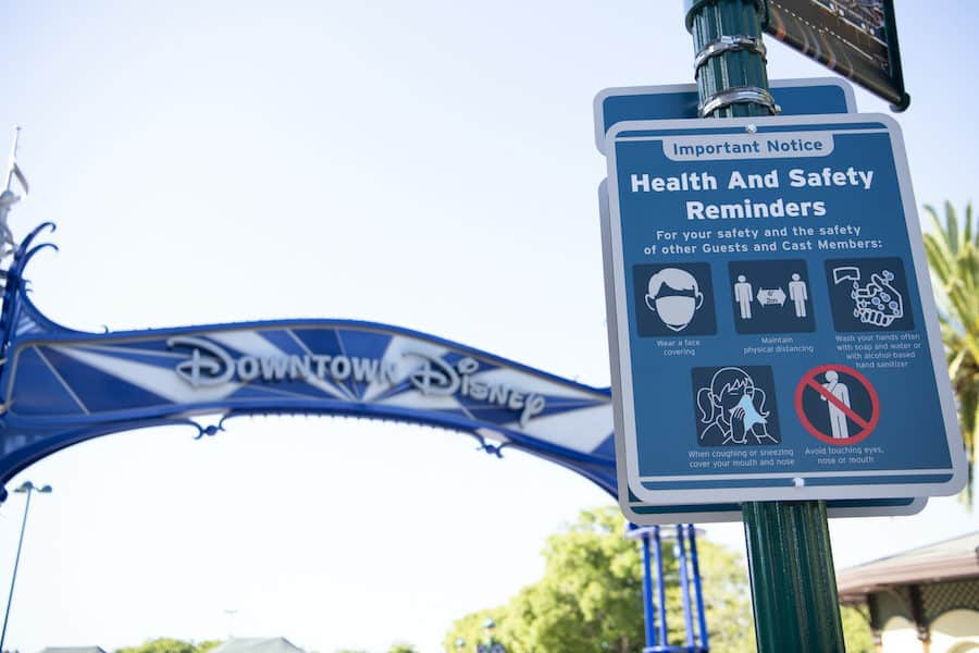 Phased Reopening of the Downtown Disney District