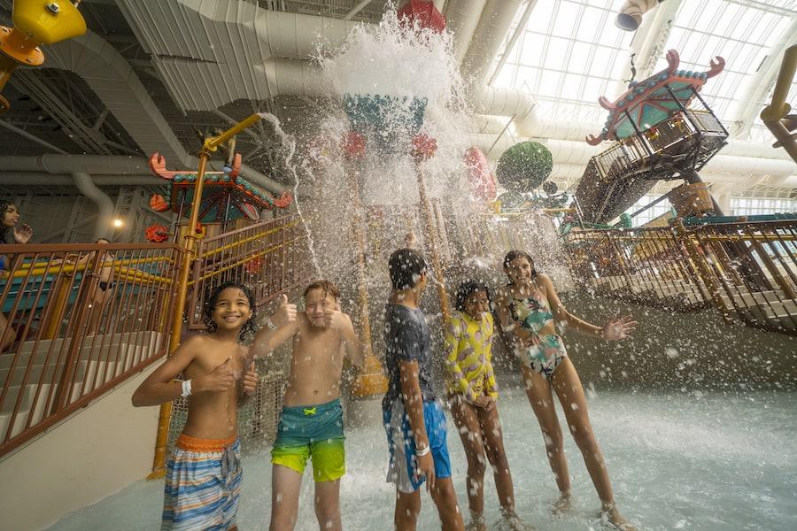 DreamWorks Water Park_American Dream aquatic play
