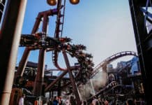 Vekoma celebrates awards win for F.L.Y. at Phantasialand