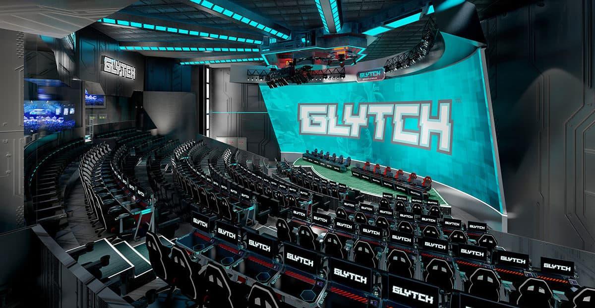 Glytch esports stadium interactive arena LBE