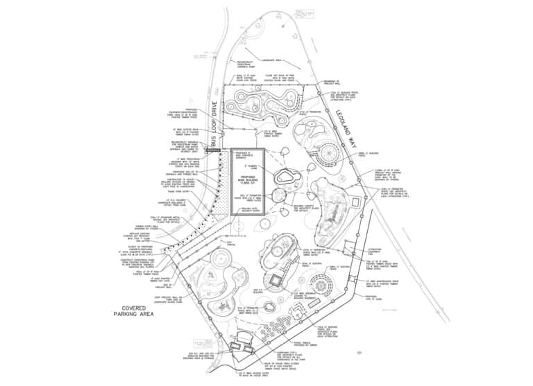 Blueprint of legoland florida expansion