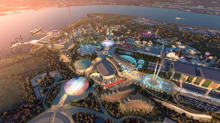 The London Resort planning application themed lands