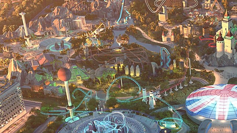 The London Resort Jungle themed land