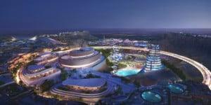 Qiddiya Cliff Edge Plaza and Performing Arts Centre