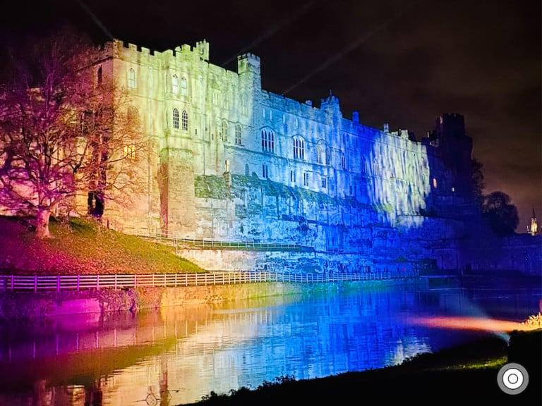 THEME3 Christmas Lights Warwick Castle