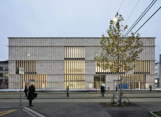 Kunsthaus Zurich extension by Chipperfield