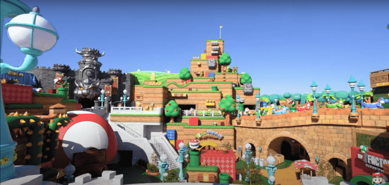 Super Nintendo World view