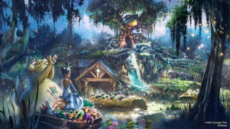 A taste of what's to come after Splash Mountain's Princess and the Frog makeover