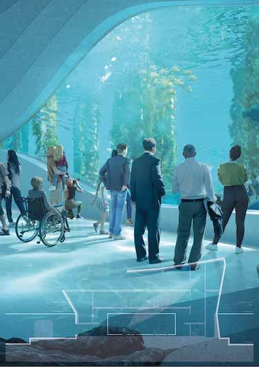 The winning design Australian Underwater Discovery Center