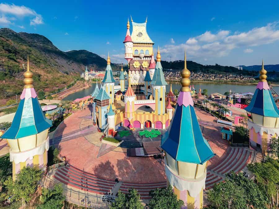 Chocolate Kingdom Castle