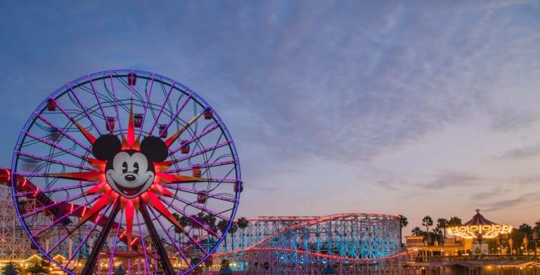 Pixar Pier at Disney California Adventure Park