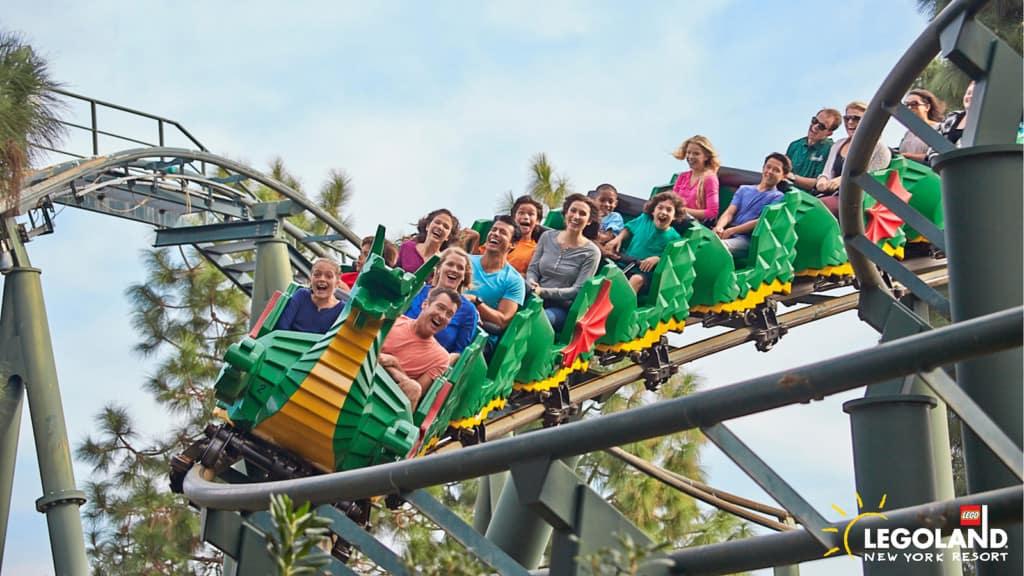 Dragon Coaster Legoland New York