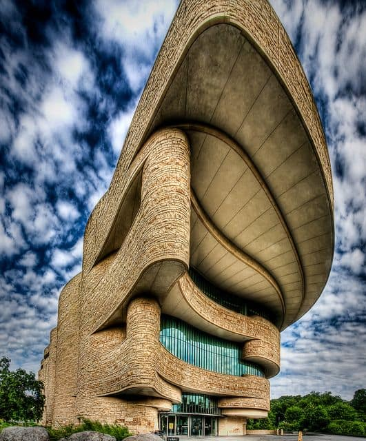 Museum of the American Indian, #Washington DC. #architecture #design Photo by Kay Gaensler.