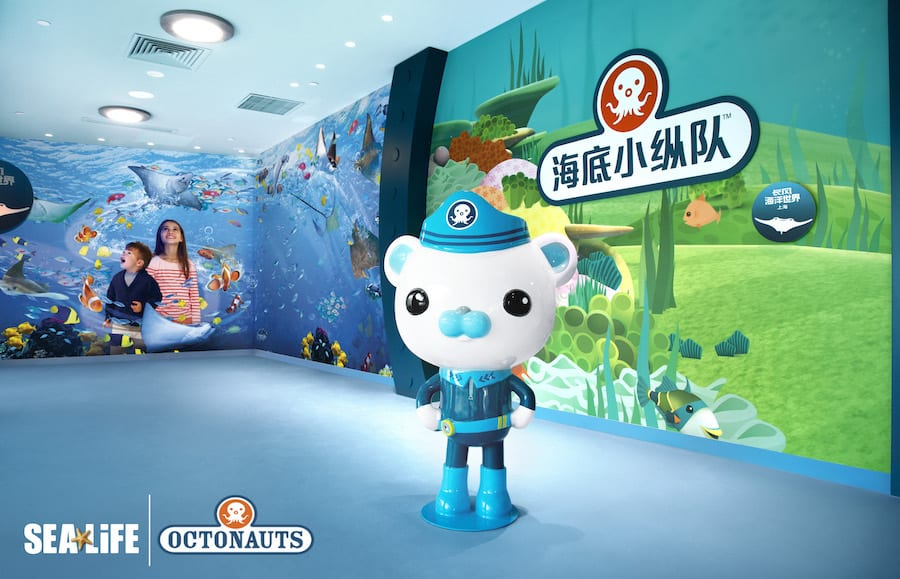 Octonauts SEALIFE Shanghai