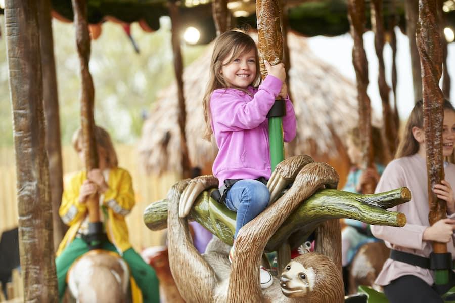 Rainforest Carousel Drusillas Park