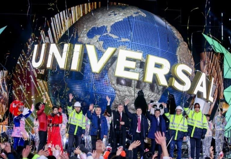 Universal Beijing Resort construction