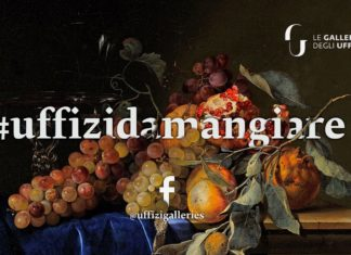 Uffizi Gallery - museum cooking on facebook
