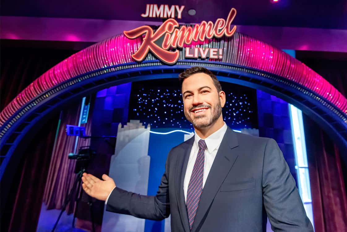 Entrance at the Jimmy Kimmel experience from OpenEye Global