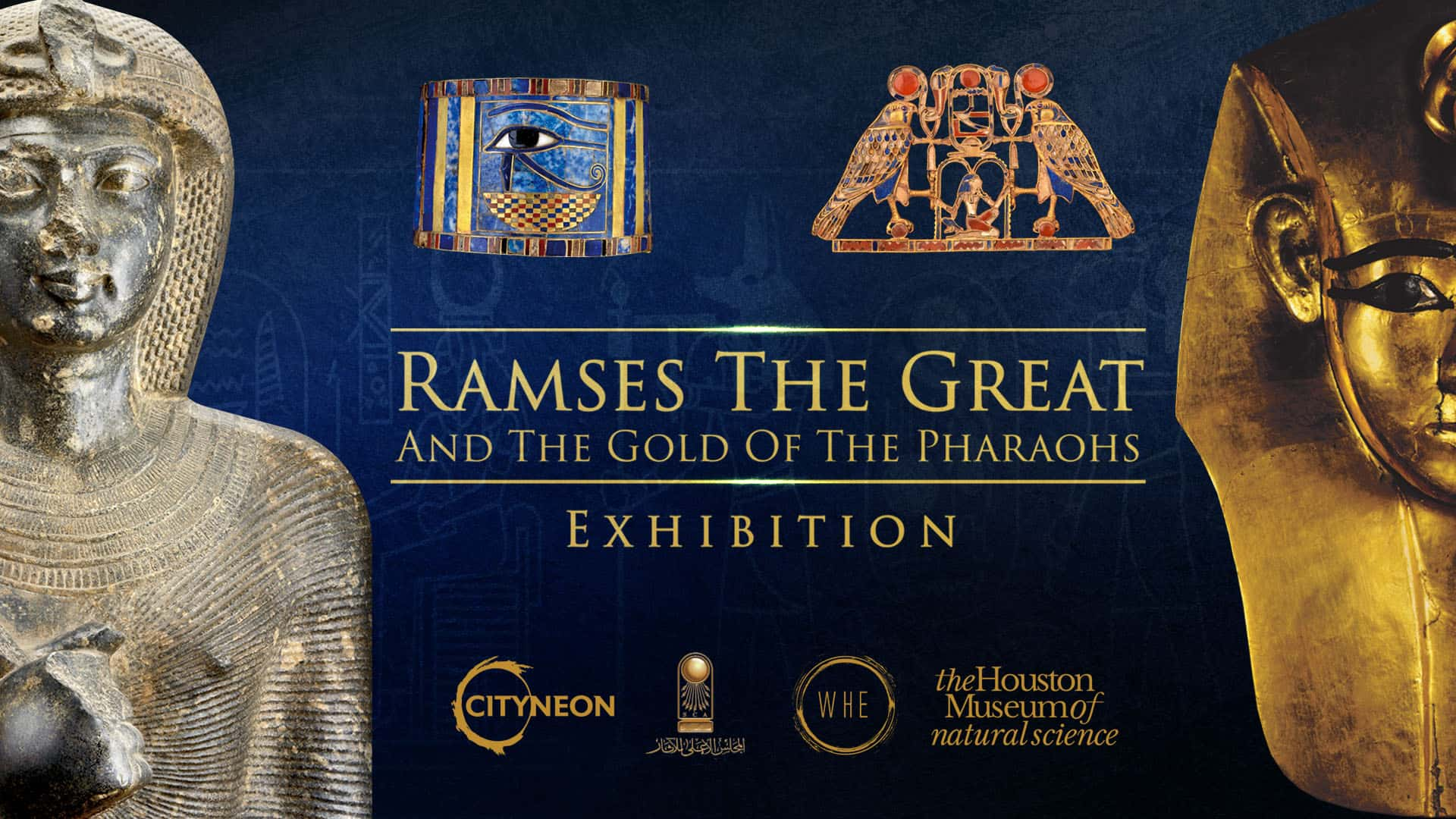 Cityneon Ramses exhibition