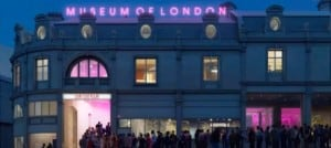 new museum of london at night exterior