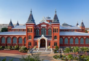 smithsonian arts industries building