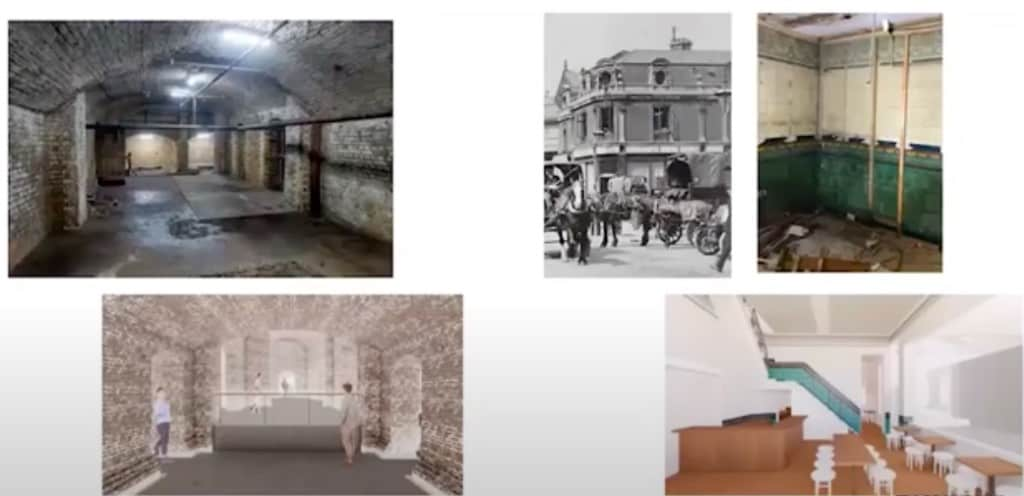 Uncovering new discoveries at the West Smithfield building