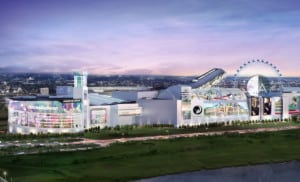 An observation wheel is part of future plans for the American Dream mall in New Jersey