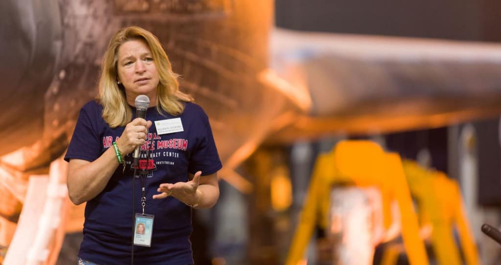 Dr Ellen Stofan National Air and Space Museum