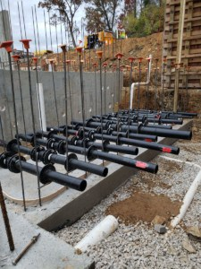 HDPE pipe Knoxille Zoo ARC Longhorn Organics