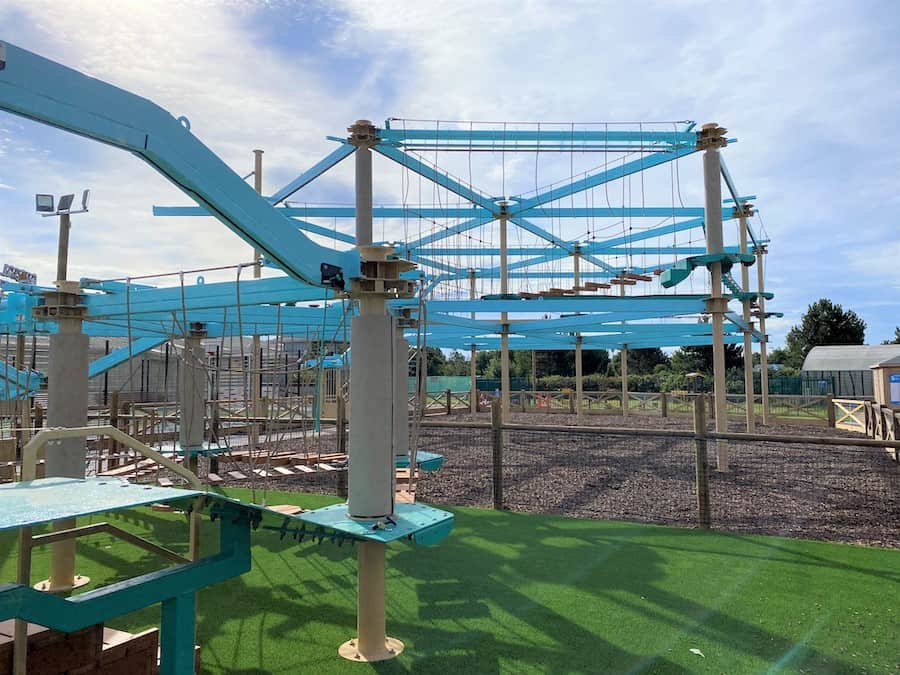 Haven Holiday Parks high ropes course