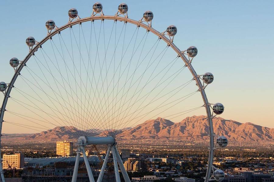 High Roller, Las Vegas observation wheels