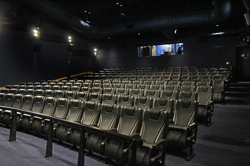 Maritime Aquarium Norwalk 4D cinema SimEx-Iwerks