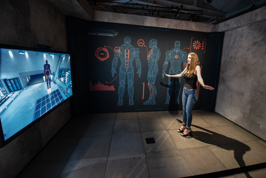 Marvel Universe of Super Heroes Iron Man interactive