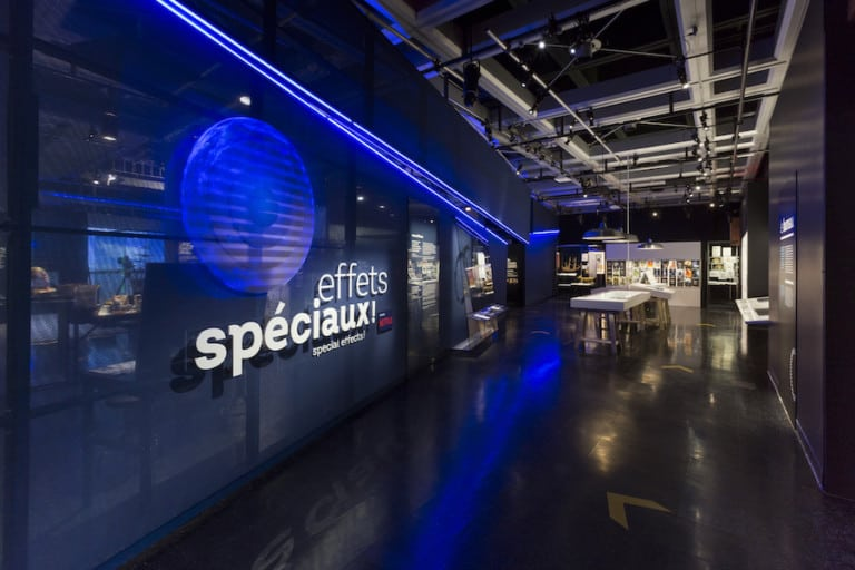 Universcience special effects exhibition