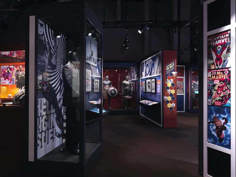 SC exhibitions Marvel universe of Super Heroes