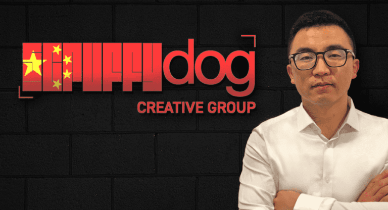 Photo of Sean Cai, new General Manager of Scruffy Dog Creative Group