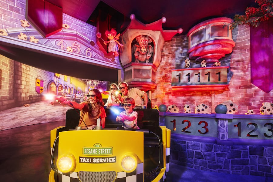 Sesame Street Dark Ride PortAventura World
