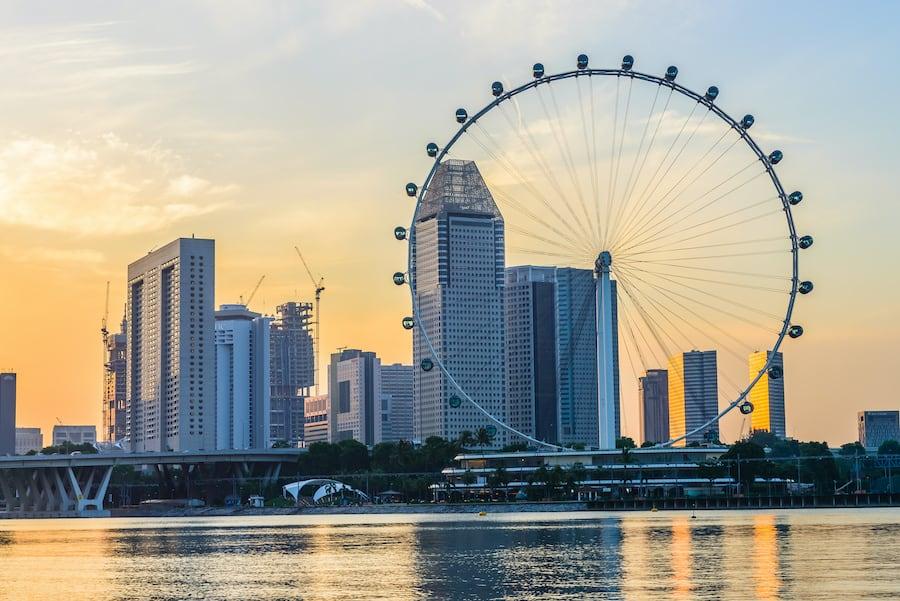 Singapore Flyer observation wheel