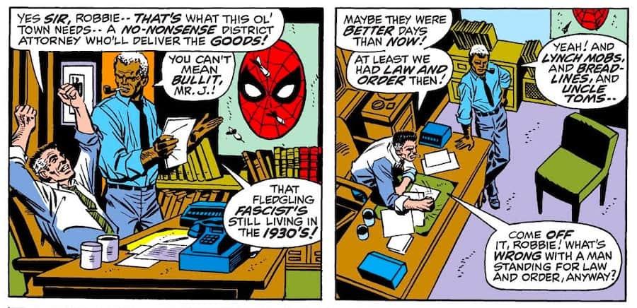 Spiderman issue 92 Sam Bullit