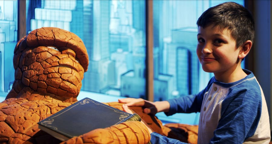 The Thing Marvel Universe of Super Heroes SC Exhibitions