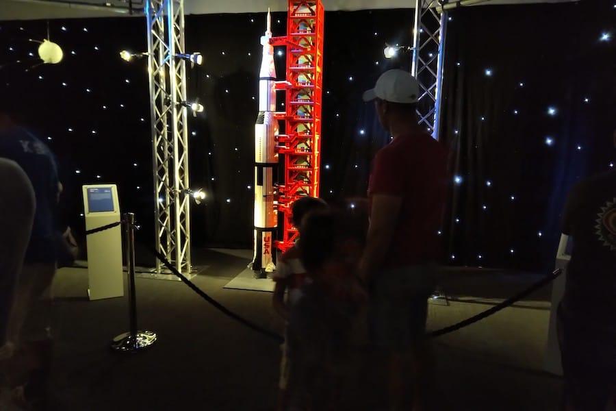 Travelling Bricks LEGO Saturn World Touring Exhibitions
