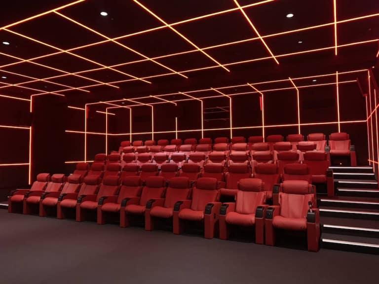 Venice Cinemas new cinema hall_Taiwan Christie