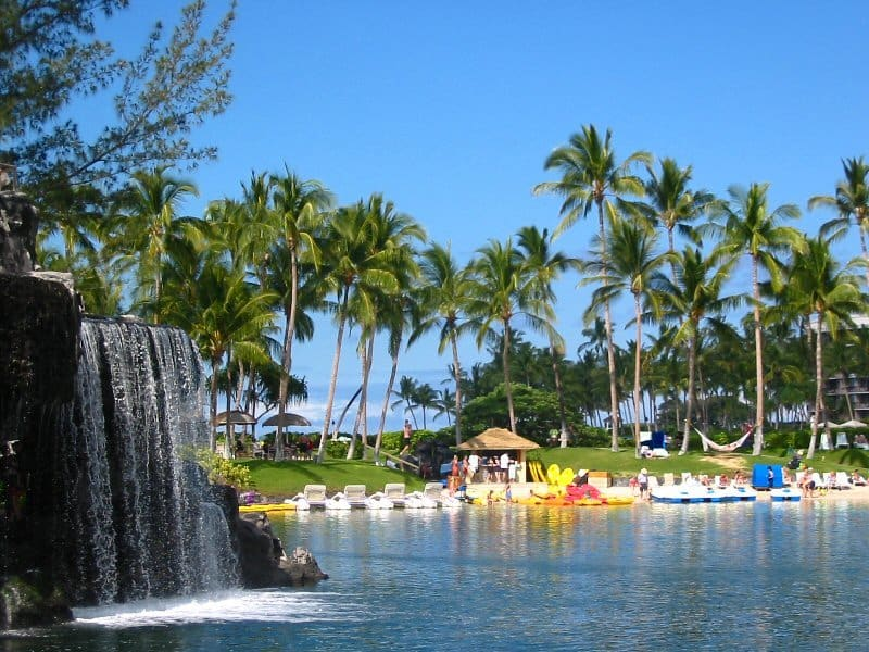 Hilton Waikoloa Village Cloward H2O