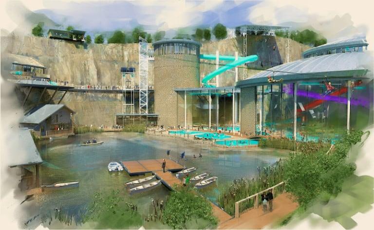 amber rock resort water park