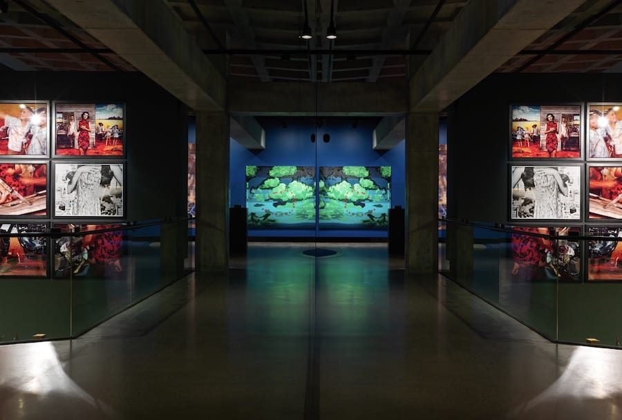 artwork on display mona