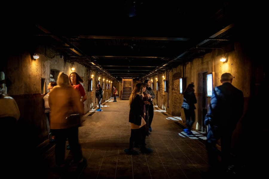 bodmin Jail corridor opening in a pandemic